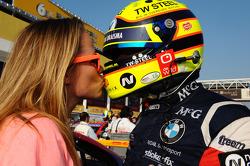 Tom Coronel, BMW E90 320 TC, ROAL Motorsport et sa femme