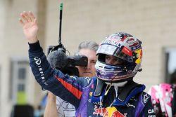 El autor de la pole del GP de Estados Unidos 2013, Sebastian Vettel, Red Bull Racing