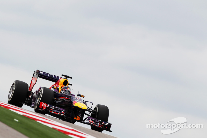 2013 - Austin: Sebastian Vettel, Red Bull-Renault RB9