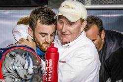 Championship victory lane: NASCAR Nationwide Series 2013 champion Austin Dillon celebrates with Rich