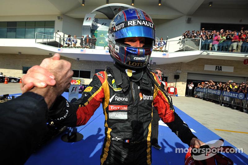 GP des États-Unis 2013 (Lotus F1) : 2e