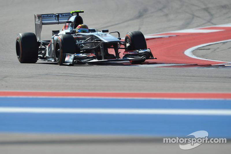 Esteban Gutiérrez - 1 GP liderado