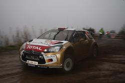 Robert Kubica and Michele Ferrara, Citroën DS3 WRC