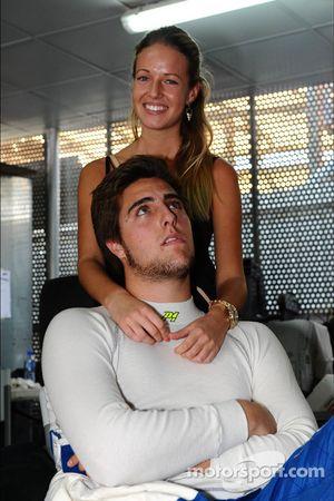 Pepe Oriola, Chevrolet 1.6T, Tuenti Racing Team met zijn vriendin