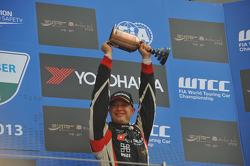 Podium: 3e Robert Huff, SEAT Leon WTCC, ALL-INKL.COM Munnich Motorsport
