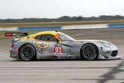 #93 SRT Motorsports Viper GTS-R: Marc Goossens, Kumo Wittmer