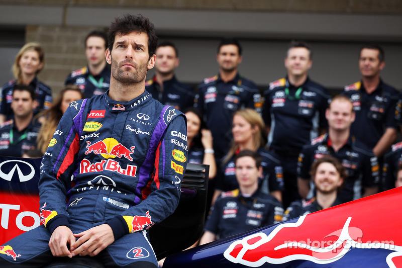 Mark Webber, presentación de Red Bull