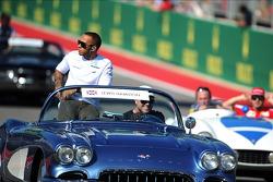Lewis Hamilton, Mercedes AMG F1 en el desfile