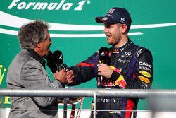 Sebastian Vettel, Red Bull Racing, et Mario Andretti
