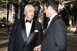 Roger Penske and Max Papis