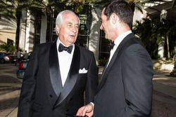 Roger Penske and Max Papis