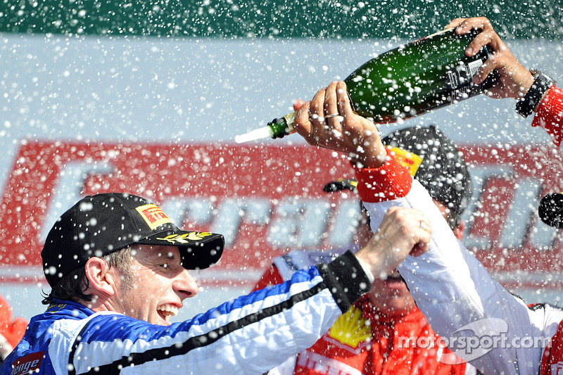 Podium: second place Coppa Shell Henrik Hedman