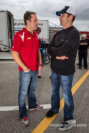 Eric Curran and Max Papis
