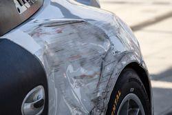 Danos no nº 30 da NGT Motorsport, Porsche GT América