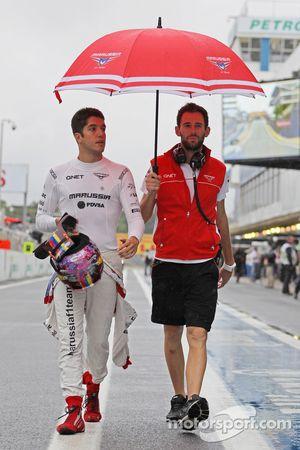Rodolfo Gonzalez, Marussia F1 Team et Sam Village, Marussia F1 Team