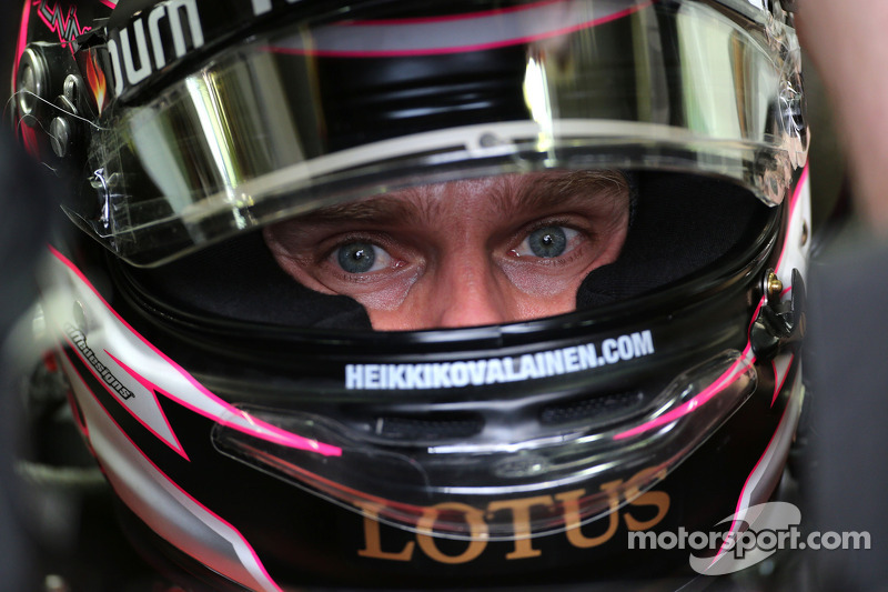 2013 год. Хейкки Ковалайнен. 2 гонки в Lotus