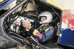 Ронан Шабо. Представление авто- и мотогонщиков Red Bull, презентация.