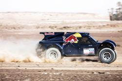 Ронан Шабо и Жиль Пийон. Представление авто- и мотогонщиков Red Bull, презентация.
