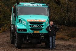 Жерар де Рой. Презентация Team De Rooy Dakar, презентация.