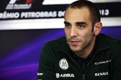 Cyril Abiteboul, Caterham F1 Team Principal in the FIA Press Conference