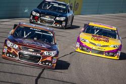 Dave Blaney, Chevrolet and David Reutimann, BK Racing Toyota