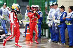 Fernando Alonso, Ferrari F138 and Felipe Massa, Ferrari