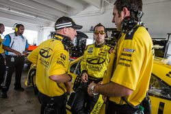Pole-winnaar Sam Hornish Jr.