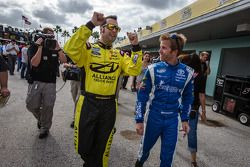 Sam Hornish Jr. et Blake Koch