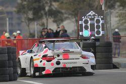 #41 Trackspeed Porsche 997 GT3 R: Marco Holzer, Nick Tandy