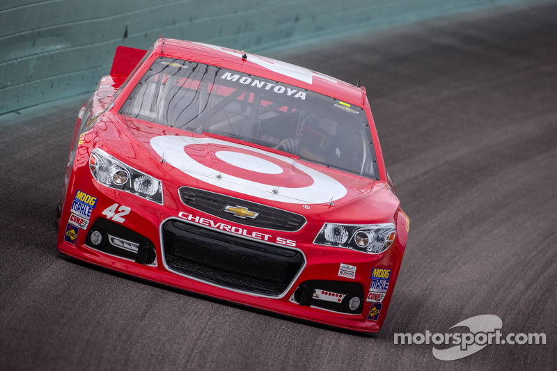 Хуан Пабло Монтойя, Earnhardt Ganassi Racing Chevrolet