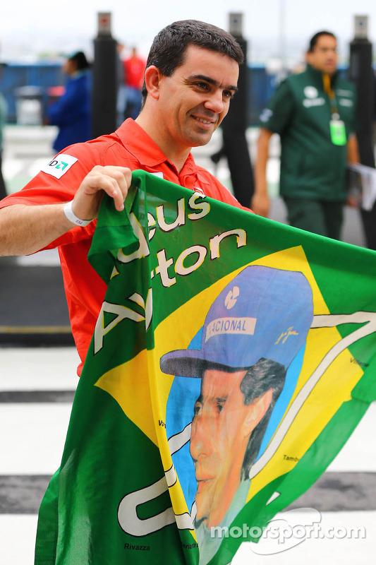 Un fan de Ayrton Senna