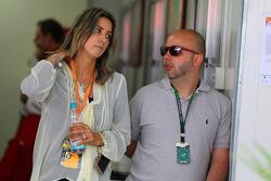 Rafaela Bassi, esposa de Felipe Massa, Ferrari