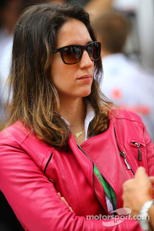 Ana Beatriz, piloto da Fórmula Indy