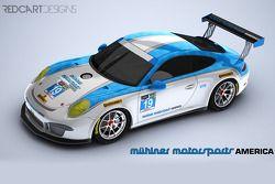Muehlner Motorsports pintura