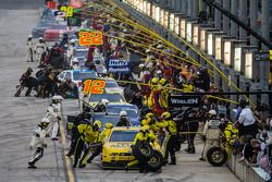 Pitstop voor Sam Hornish Jr.