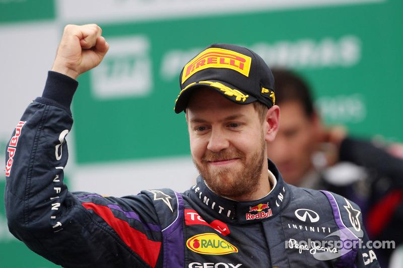 Campeão: Sebastian Vettel chegava ao ápice da carreira ao conquistar o tetracampeonato com a Red Bull, com 13 vitórias, sendo nove consecutivas.