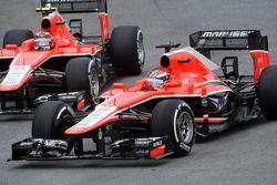 Jules Bianchi, Marussia F1 Team MR02; Max Chilton, Marussia F1 Team MR02
