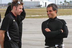 Will Power et Juan Pablo Montoya