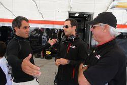 Juan Pablo Montoya, Will Power en Rick Mears