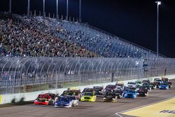 Restart: Ryan Blaney and Ty Dillon lead the field