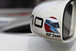 Een sticker voor Sean Edwards