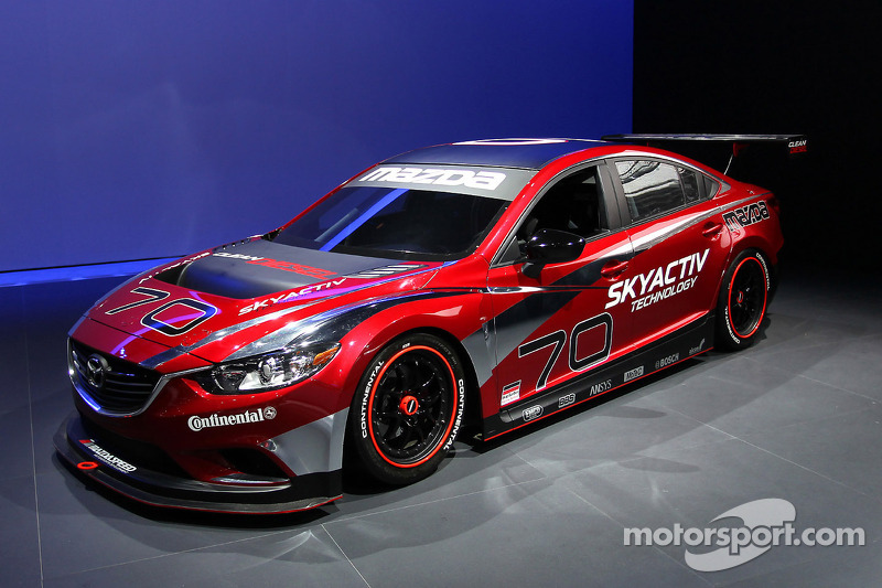 Mazda 6 Gtx Racer For Tudor Sports Car Series At Los Angeles Auto Show