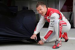 Tom Kristensen teases the new Audi LMP1 car for 2014