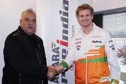 Нико Хюлькенберг. Подписание контракта между Force India и Нико Хюлькенбергом, Особое мероприятие.