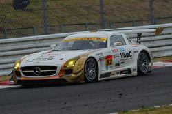 #52 Okinawa-IMP Mercedes SLS AMG GT3: Hironori Takeuchi, Takeshi Tsuchiya