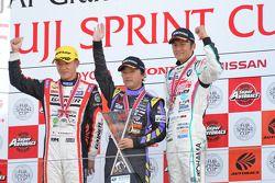 GT300 winner Hiroki Katoh