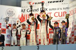 GT300 podium