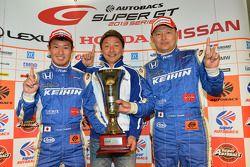 GT500 Winnaars Koudai Tsukakoshi, Toshihiro Kaneishi