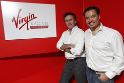 Alex Tai, Virgin Racing ve Alejandro Agag, CEO Formula E