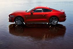 Ford Mustang GT 2015 года, фотосессия.